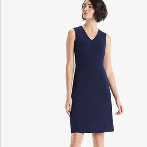 MM La Fleur Annie Dress Indigo NWT Sz 0 Never worn